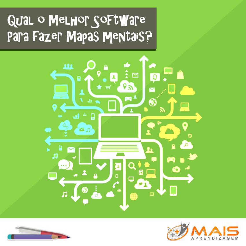 Qual o melhor software para fazer mapas mentais?