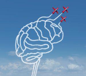 O cérebro humano é quase tão rápido quanto um avião.