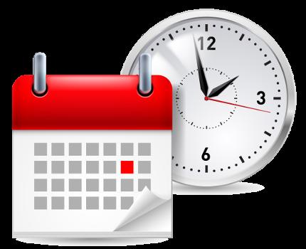 calendario e relogio - Mais Aprendizagem